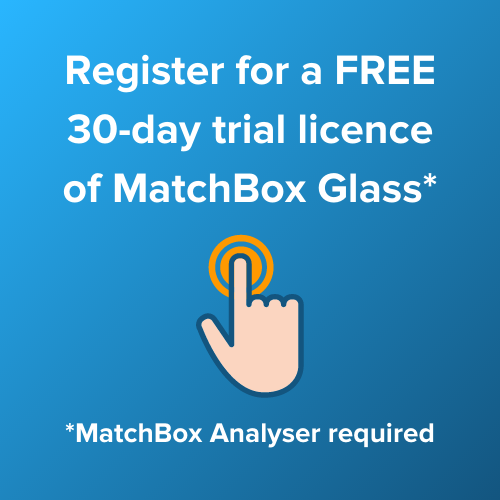 Register for 30-day trial license for MatchBox Glass